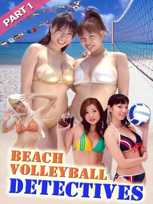 Poster image Beach Volleyball Detectives Part 1